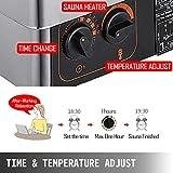 VEVOR Sauna Heater 3KW Dry Steam Bath Sauna