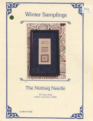 Winter Samplings (Cross Stitch and Hardanger Sampler) (The Nutmeg Needle Leaflet #604)
