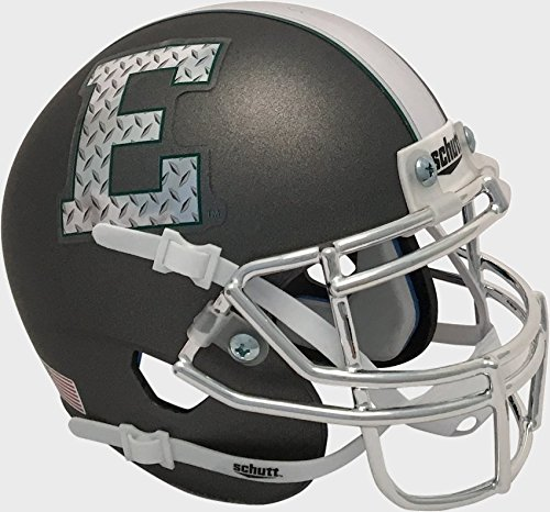 Football Michigan Eastern (Schutt NCAA Eastern Michigan Eagles Mini Authentic XP Football Helmet, Alt. 3, Mini)