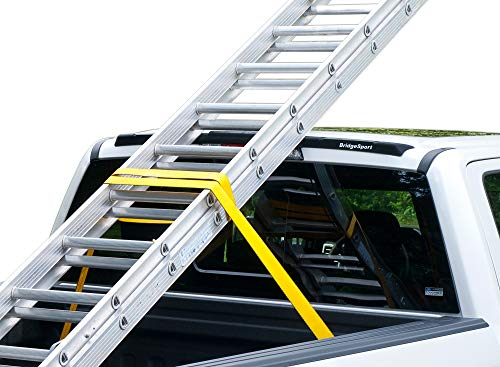 BridgeSport Roof Ladder Cargo Carrier Headache Rack for F150 2015-2019 & F250 2017-2019 ()
