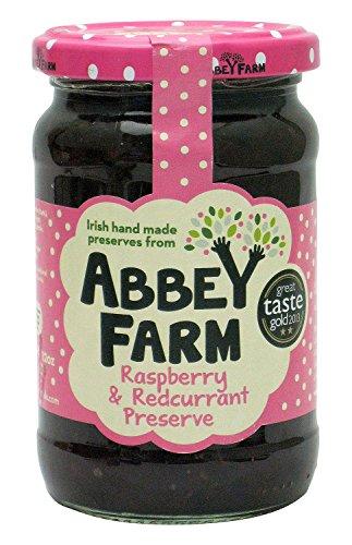 Abbey Farm Preserve, Raspberry and Redcurrant, 12 Ounce