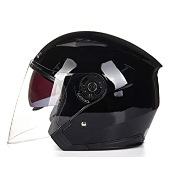 Qianliuk Casco Ligero Scooter de Seguridad Helm 512 Modelo Moto ...