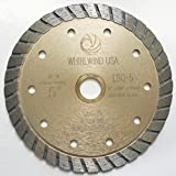 5 wet saw - Whirlwind USA LSC 5-inch Dry or Wet Cutting General Purpose Continuous Turbo Power Saw Diamond Blades for Concrete Masonry Brick Stone (Factory Direct Sale) (5