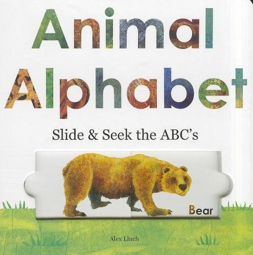 Animal Alphabet: Slide and Seek the -