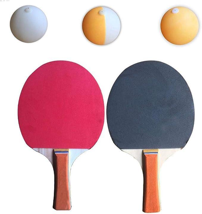 Net et les Polonais GREAT FUN FOR Enfants Jouet 2-Joueurs de Tennis de Table Set avec 3 boules