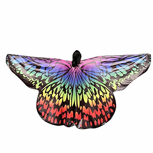 Ideas Costume Belly Dance - Teresamoon Kids Baby Girl Belly Dancing Costume Butterfly Wings Dance Accessories No Sticks (Most Wished & Gift Ideas)