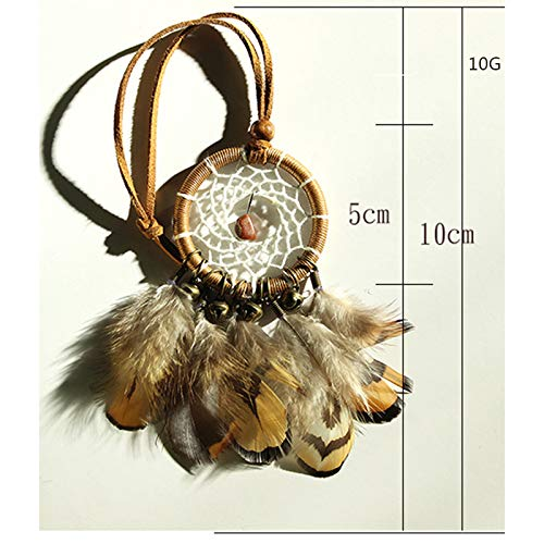 MoGist Indian Handmade Dreamcatcher Pendant Car Ornament Feather Ornament by MoGist (Image #3)