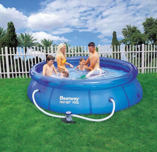 Bestway Piscina Quick Up Piscina 305 cm, incluye bomba de filtro ...