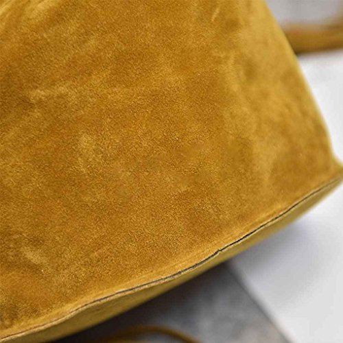 Décoratifs Bag Femmes en forme Mengonee Sac Messenger Sacs bandoulière Femmes à Polyester de Sacs Lady Seau Marron Sacs 1RqxaUtq