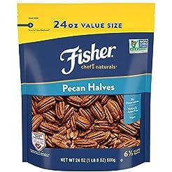 FISHER Chef's Naturals Pecan Halves, 24 ...