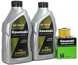 2000 Kawsaki KL250-G4 (Super Sherpa) Full Synthetic Oil Change Kit