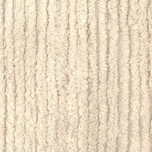 Chenille Cloth Burp Cloth - Richland Textiles AH-398 10 Ounce Chenille Natural Fabric by The Yard