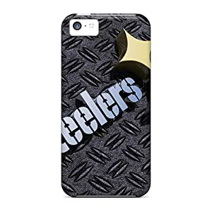 Premium Protection Pittsburgh Steelers Cases Covers For Iphone 5c- Retail Packaging