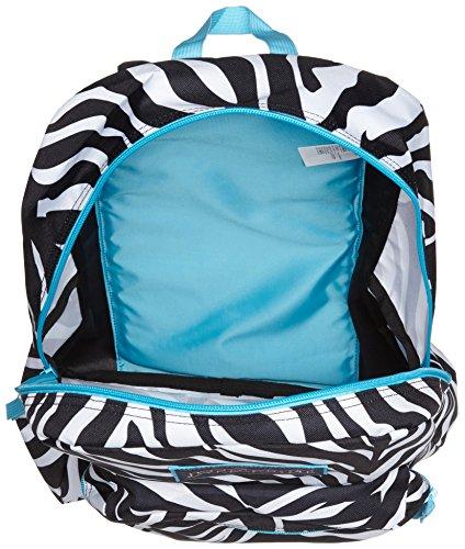 Jansport Overexposed Miss Zebra/Mammoth Blue T08W0CX by JanSport (Image #3)
