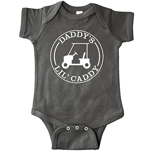 inktastic-unisex-baby-daddys-lil-caddy-infant-creeper-6-months-charcoal-grey