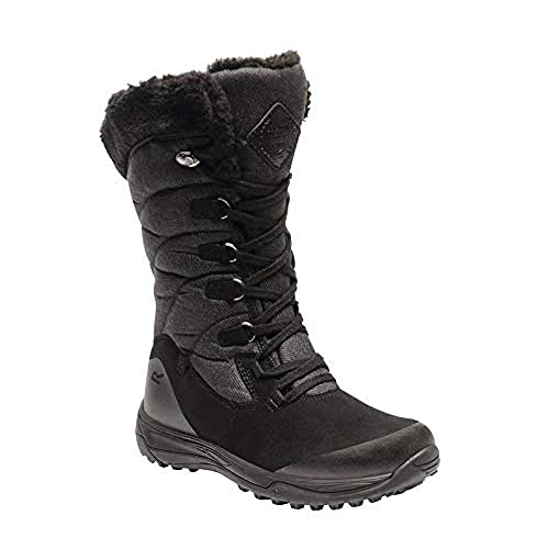 c9ba2f7325b4a Regatta Womens Ladies Newley High Rise Snow Boots (4 UK) (Brown Peat Treetop)   Buy Online at Low Prices in India - Amazon.in