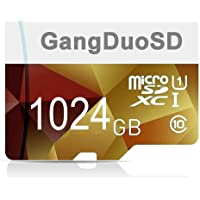 C10 - Tarjeta de memoria Micro SD de 1024 GB, 1 TB, de alta velocidad, clase 10, con adaptador SD para teléfono…
