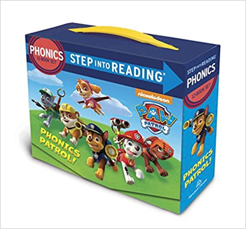 Paw Patrol Step In To Reading.