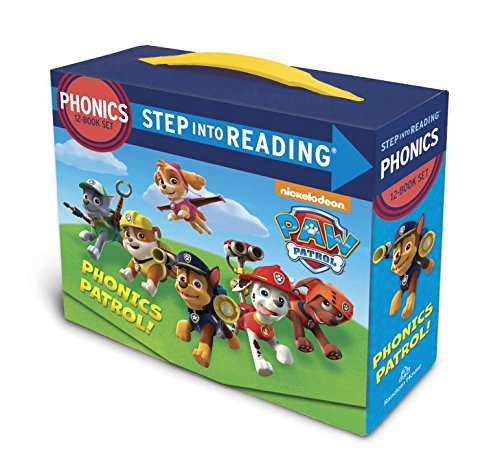 Paw Patrol Phonics Box Set (Step into Reading)