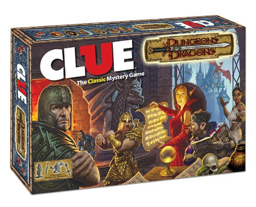 Clue: The Dungeons & Dragons Edition: Clue: The Dungeons & Dragons Edition