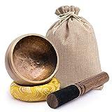 DomeStar Tibetan Singing Bowl Set Meditation Bowl