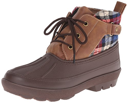 Dirty Laundry by Chinese Laundry Women's Belladonna Boot, Brown Plaid,  8 M US