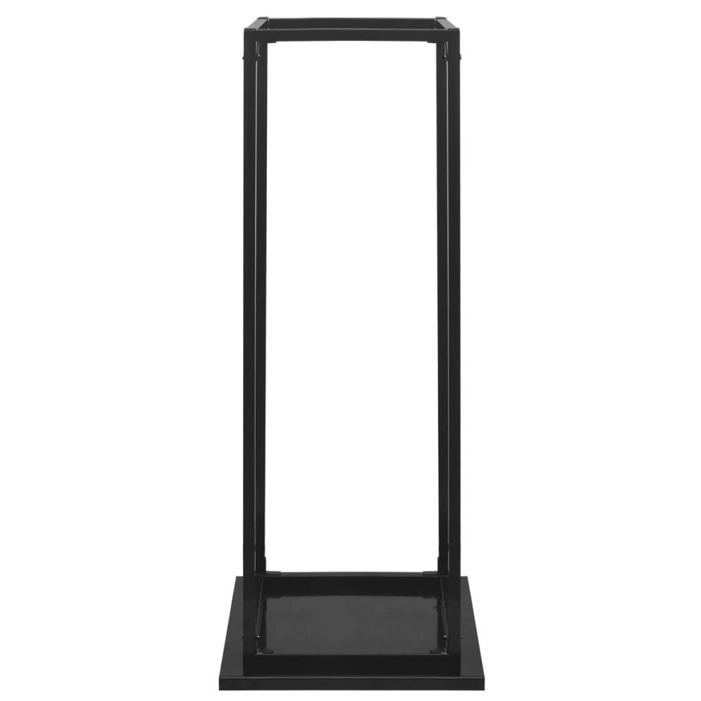 vidaXL Porta Legna da Ardere con Base 113 cm Accessori Camino Caminetto Stufa
