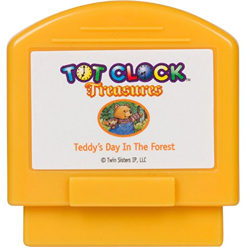 Tot Clock Treasures: Teddy's Day In The Forest + The Magic Train (compatible with New & Improved Tot Clock only)
