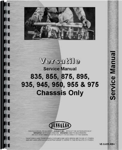 1978-1984 Chassis Versatile 835 Tractor Service Manual