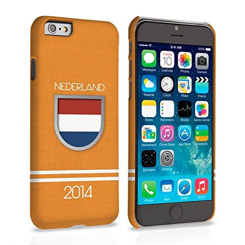 Caseflex iPhone 6 Plus / 6S Plus Hülle Nederland Weltmeisterschaft Hart Schutzhülle (Kompatibel Mit iPhone 6 Plus / 6S Plus - 5.5 Zoll)