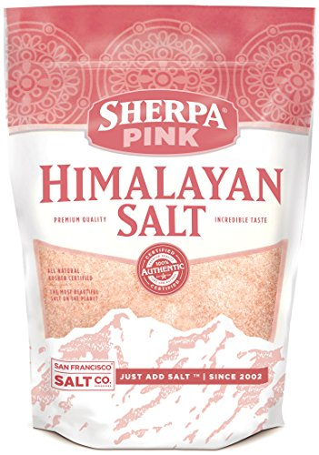 Extra Salt - Sherpa Pink Gourmet Himalayan Salt, 1 lb. Extra-Fine Grain. Incredible Taste. Rich in Nutrients and Minerals To Improve Your Health. Add To Your Cart Today.