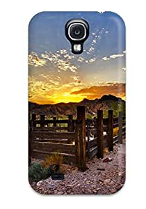Shock-dirt Proof Fence Case Cover For Galaxy S4