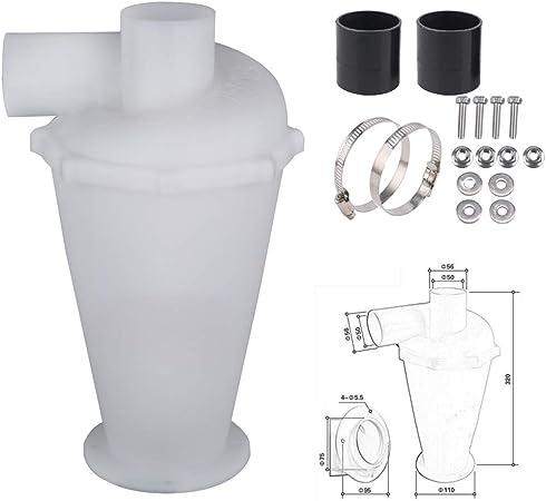 Sinbide Aspirador de polvo y separador – Separador ciclón separador ciclónico aspirador ciclónico Bianco: Amazon.es: Hogar