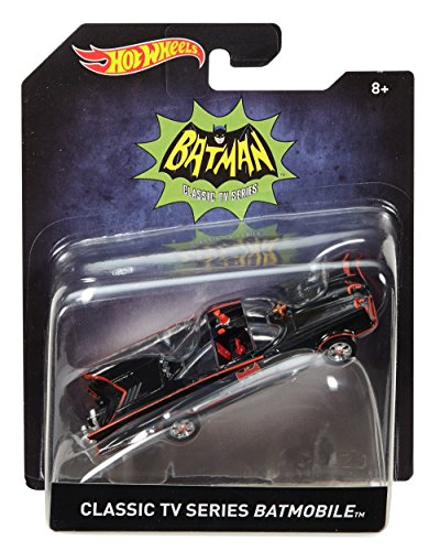 Mattel Hot Wheels Classic TV Series 1966 Batmobile Vehicle (1966 Batmobile)
