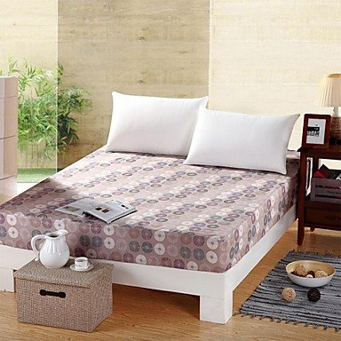 Sheet,100% Pure Cotton 1 Piece Suit Comfort Simple Modern Super Soft Sheet with Punctuate Pattern , Full