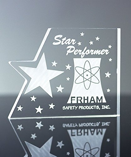 Star Acrylic Plaque - Acrylic Star Paperweight