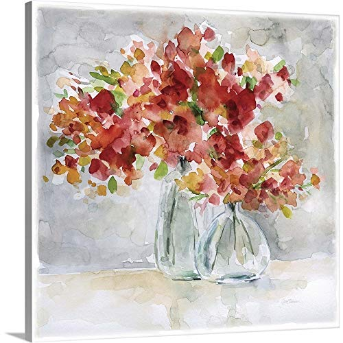 GREATBIGCANVAS Gallery-Wrapped Canvas Entitled Red Arrangement by Carol Robinson 10