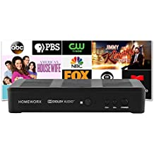 Mediasonic HomeWorx ATSC Digital Converter Box w/ Recording and Media Player Function (2018 Version) (HW180STB-Y18)