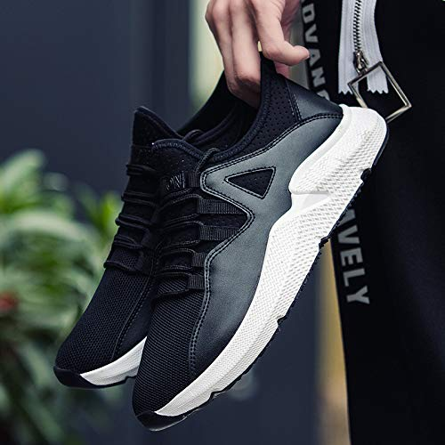 Autumn Winter and Shoes Breathable Shoes Trend Men Running Weaving Leisure Fashion Men's Flying NANXIEHO qEH5dwq