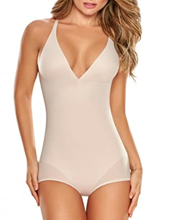 abb9453b15 TrueShapers 1280 Truly Invisible Bodysuit at Amazon Women s Clothing store