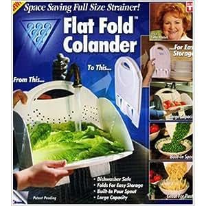 Colander Falt folding & Space Saver