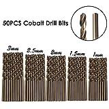 50PCS Tools M35 Cobalt Drill Bit Set HSS-CO Drill