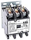 ABB, DP50C3P-1, 3 Pole, 50 Amps, 120VAC Coil, Definite Purpose Contactor
