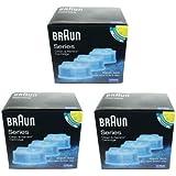 Braun Clean & Renew Cartucce di ricarica di pulizia (Confezione da 3, 6, 9o 15), 3 Boxes - 9 Refills