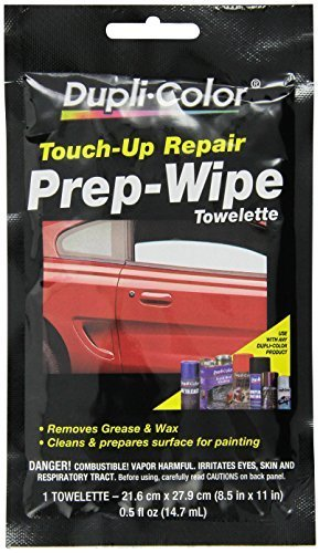 Dupli-Color PW100 Prep Grease and Wax Remover Prep Wipe by Dupli-Color (Duplicolor Grease And Wax Remover compare prices)