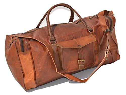Duffel Genuine Vintage Leather Luggage