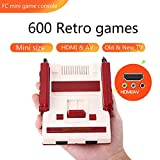 Built-in 600 Retro Games HDMI & AV Game Console Classic Mini Video Game Machine Christmas Gifts Family Computer