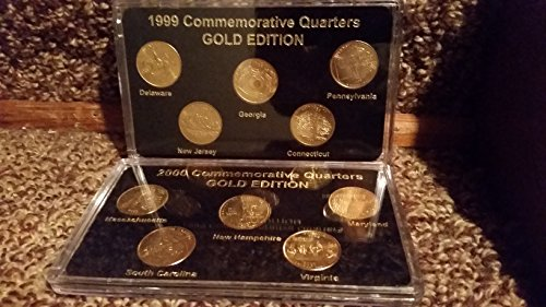 1999 Various Mint Marks State Quarters About Uncirculated