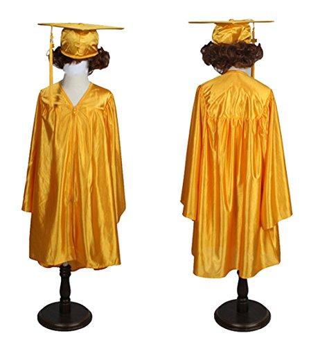 Happy Secret Preschool and Kindergarten Graduation Cap and Gown, Tassel and 2019 Charm ()