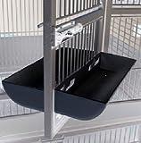 8″ Black DoorSkirt Set **No More Newspaper Under Your Cage Door. 8″, 11″, 13″ Black or White Door Skirts Set, My Pet Supplies